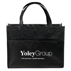 Couture� Gloss-Laminated Tote Bag (Screen Print)