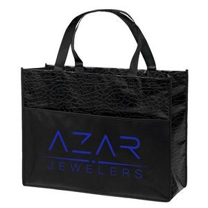 Couture� Gloss-Laminated Tote Bag (ColorVista)