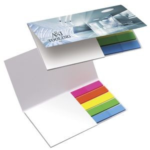 BIC� Mylar Flag and Notepad Booklet