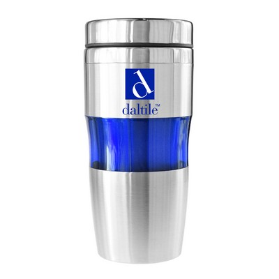 Marin 16 Oz Double Wall Stainless Steel Tumbler (Blue)